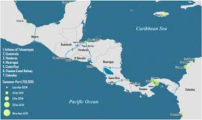 america map honduras canal projects in central america