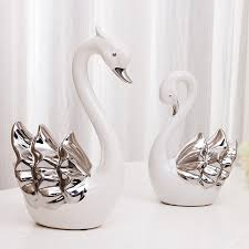 wedding gift ornaments swan ornaments anniversary wedding gift to send his to a