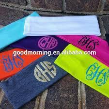 monogram headband headband headband suppliers and manufacturers at