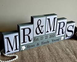 wedding gift registration personalised mr mrs wedding wood sign bridal shower gift sweet