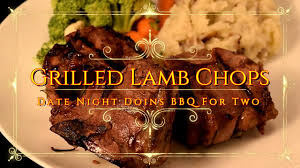 grilled lamb chops on the green mountain wood pellet grill youtube