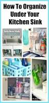 Organizing Kitchen Cabinets How To Organize Under The Kitchen Sink Space Kitchen Dollar
