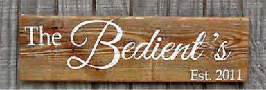 Personalized Wood Signs Home Decor Rustic Reclaimed Wood Sign Family Last Name Personalized Gift Home