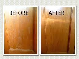 Clean Cabinet Doors How To Clean Grease From Kitchen Cabinets Faced