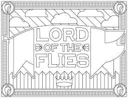lord of the flies movies coloring pages for adults justcolor