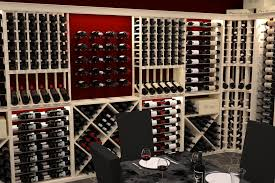 horizontal wine rack cellar modern with architecture contemporary