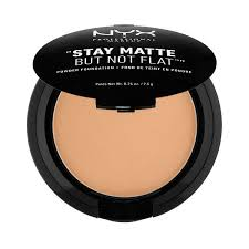 Bedak Nyx stay matte but not flat powder foundation nyx professional makeup