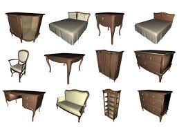 Bedroom Furniture Items House Furniture 25 Items Bedroom Livingroom Sets 3ds 3d Studio