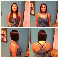 amy u0027s before after haircut perfect and just in time for summer