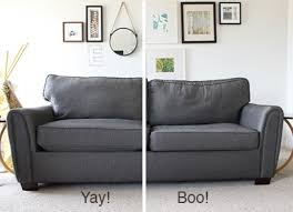 Sofa Cushion Foam Prices How To Stuff Your Sofa Cushions And Give Them New Life