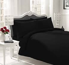 Egyptian Cotton Duvet Cover King Size Luxury 100 Egyptian Cotton Duvet Quilt Cover U0026 Pillowcase Bedding