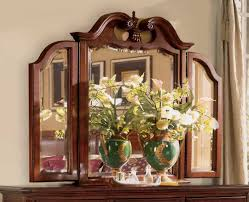 american drew 791 022 cherry grove landscape mirror vanity and