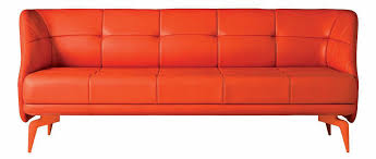 Orange Sofa Bed by Sofa Bed Contemporary Aluminum Fabric Leeon By Ludovica