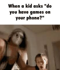 You Got Games On Your Phone Meme - sure i ll play super smash with you kid gif on imgur