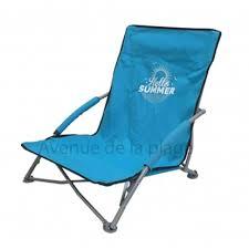 sieges de plage siège de plage bas pliant hello summer pas cher chaise de plage