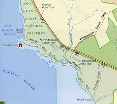 Island Beach State Park Map by Hiking Trails