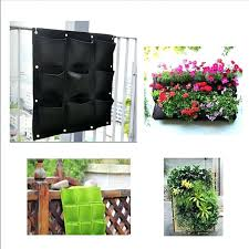 wall ideas wall hanging planters india 4 8 16 pockets indoor