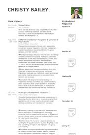 Freelance Writer Resume Sample by Download Writer Editor Resume Haadyaooverbayresort Com