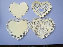 heart shaped doilies valentines featuring doilies and sweet sentiments by graphic 45