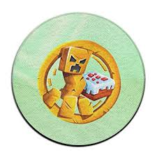 Round Rugs For Bathroom Amazon Com Boomy Mine Video Game Round Floor Rug For Home