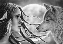 crossing spirits moon indian wolf