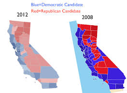 california blue electoral geography geocurrents