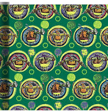 tmnt wrapping paper mutant turtles wrapping paper roll gift wrap any 15