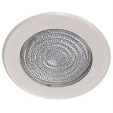 5 shower light trim 5 inch glass shower trim white for recessed can light ebay