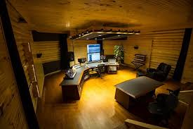 wsdg creates rustic owl city studio for platinum artist adam young