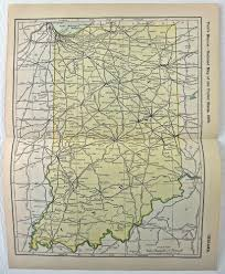 Chicago Railroad Map by Original 1903 Railroad Map Of Indiana Photo S
