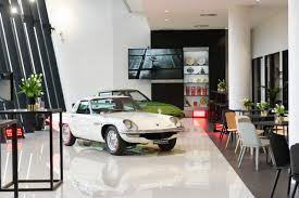 mazda cars australia news mazda s new australian hq proudly displays heritage collection
