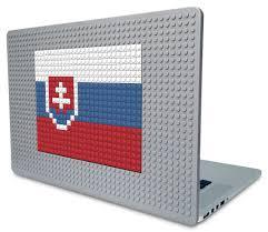 Slovak Flag Flag Of Slovakia Pixel Art U2013 Brik