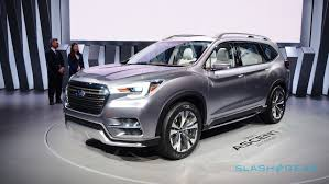 subaru viziv 2018 this striking 7 seat concept previews subaru u0027s ascent suv for 2018
