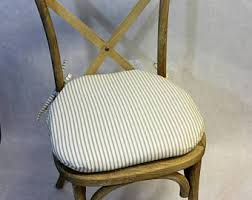 Shabby Chic Chair Pads by View Chair Cushioned Covers By Brittaleighdesigns On Etsy