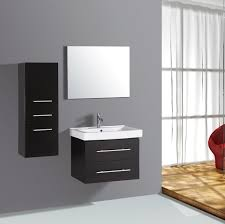 Modern Bathroom Wall Cabinets Floating Makeup Vanity Bathroom Wall Hung Vanity Modern Bathroom