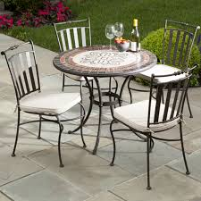 outdoor mosaic bistro table mosaic patio furniture outdoor goods