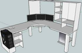 Desk Diy Plans Computer Desk Blueprints Athomeintn