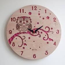 Wood Decor by Modern Wall Clock