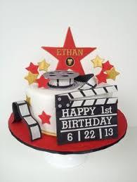 5m creations movie night 13th birthday party cake movie night