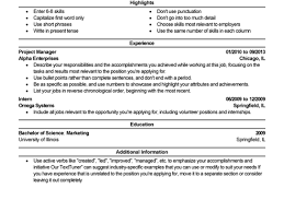 Best Free Resume Templates 100 Examples For A Resume First Job Resume Examples