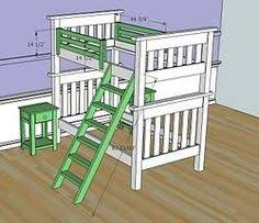 Free Bunk Bed Plans Twin by Simpler Bunkbed Diy But I Think Chris Wants Them To Be Able To
