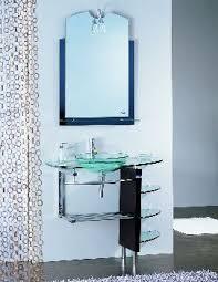 Glass Bathroom Vanity Glass Bathroom Vanities