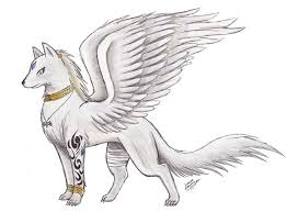 88 best wolf with wings images on pinterest animal drawings