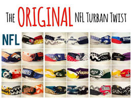 number one headband nfl turban twist headband the original number 1 selling nfl