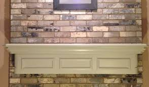 painting my fireplace mantel easy diy youtube