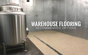 the best warehouse flooring coating options that won t the