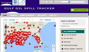 Where Is Destin Florida On The Map by Oil Spill Tracker U2013 Skytruth