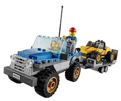 lego jeep amazon com lego city great vehicles dune buggy trailer toys u0026 games
