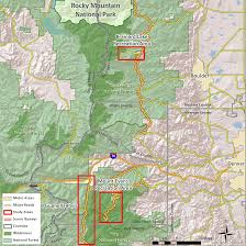 Colorado Public Land Map by U S Forest Service U2014 Arapaho Roosevelt National Forest