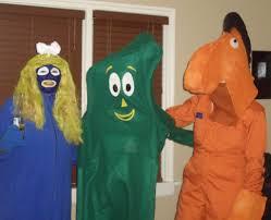 Gumby Pokey Halloween Costumes Gumby Goo Pokey Gumby Girfriend Na U2026 Flickr